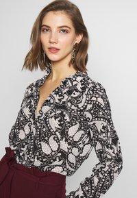 Vero Moda - VMLUCIA - Button-down blouse - black - 3