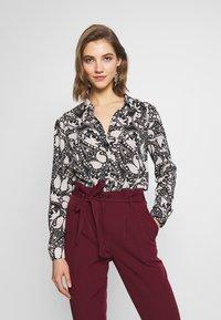 Vero Moda - VMLUCIA - Button-down blouse - black - 0