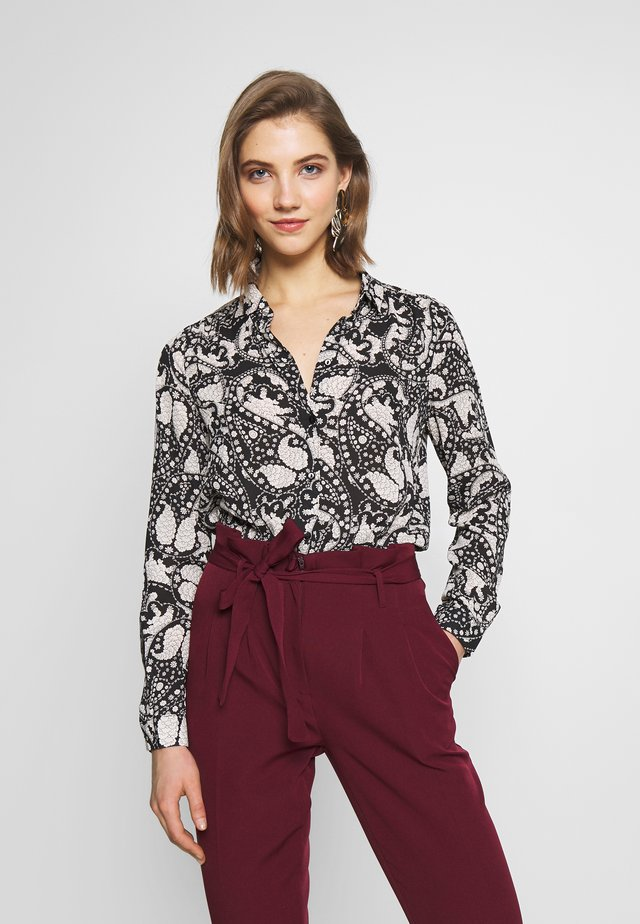 VMLUCIA - Button-down blouse - black