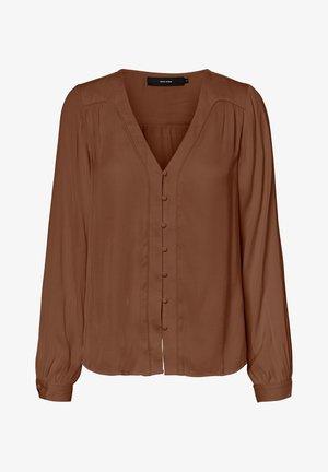 Pusero - mottled brown