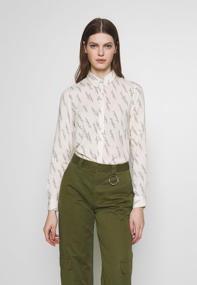 VMGUNHILD - Button-down blouse - nude