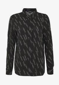 Vero Moda - VMGUNHILD - Button-down blouse - black - 4