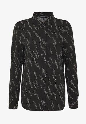 VMGUNHILD - Button-down blouse - black