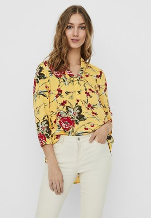 VMSIMPLY  - Tunic - banana cream
