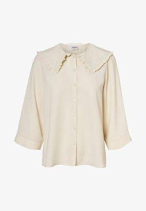 3/4-ÄRMEL - Button-down blouse - birch
