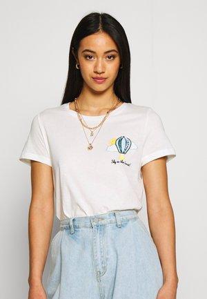 VMALMA FRANCIS  - Print T-shirt - snow white