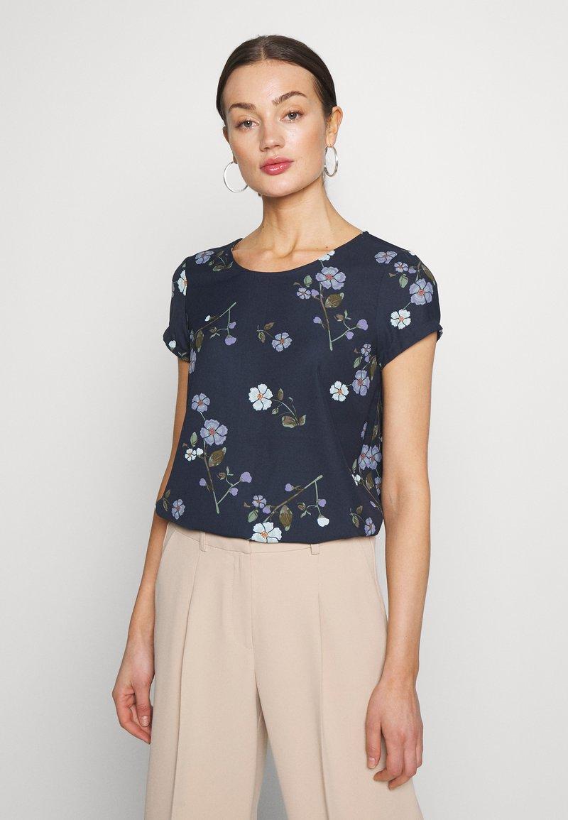 Vero Moda - VMFALLIE - Blouse - navy blazer/fallie