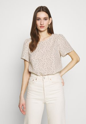 VMKANYA - Blouse - birch/kanya brownie