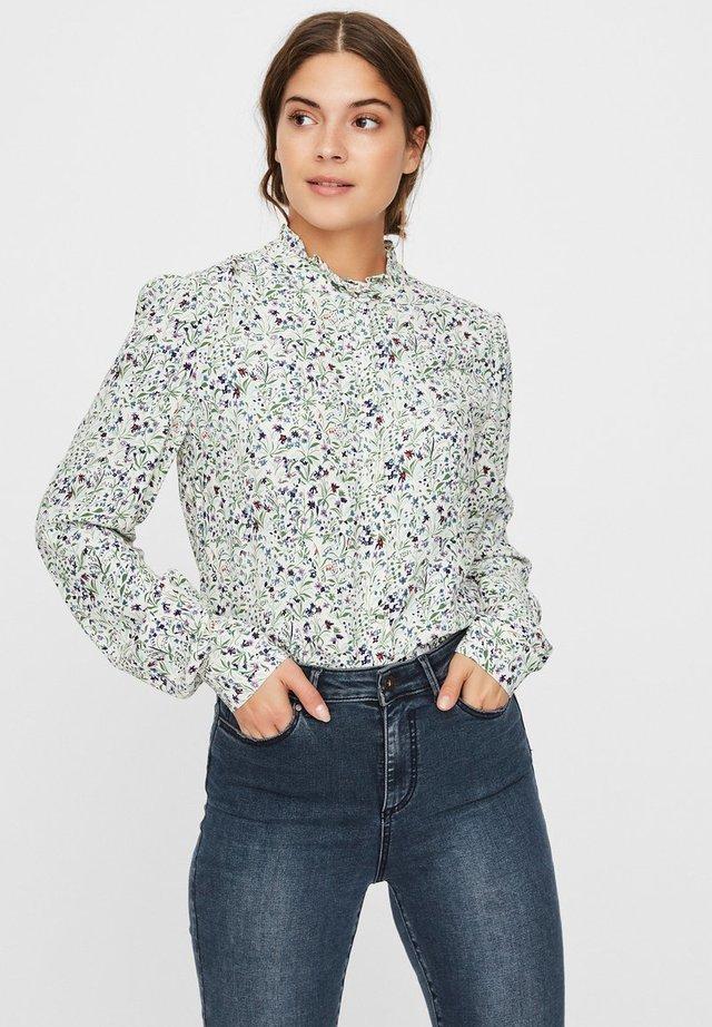 Button-down blouse - birch