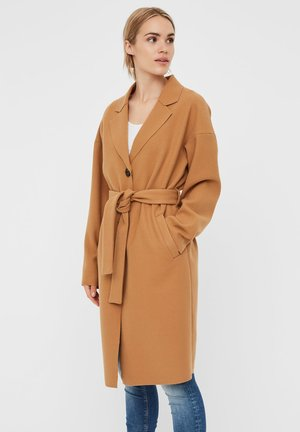 WICKEL - Trenchcoat - tobacco brown
