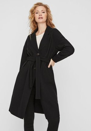 WICKEL - Trenchcoat - black