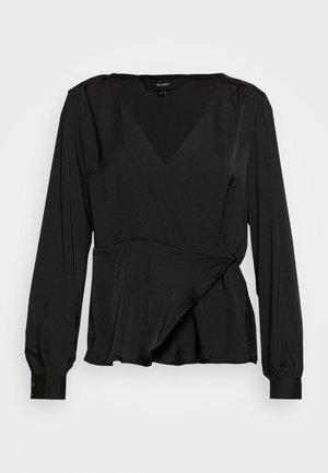 VMKATE WRAP - Blouse - black