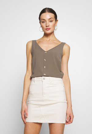 VMSASHA BUTTON - Blouse - bungee cord
