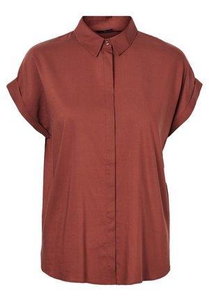 Overhemdblouse - sable