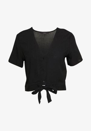 VMSIMPLY EASY SHIRT TIE TOP - Blus - black
