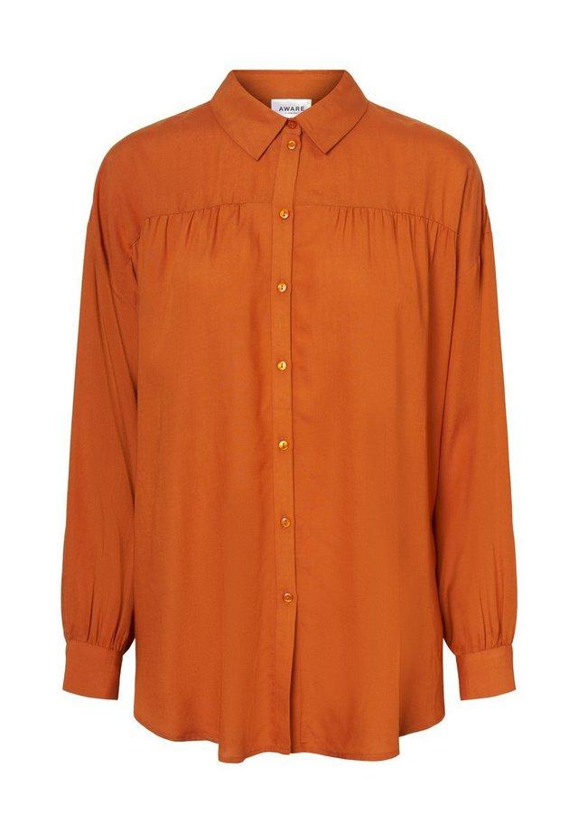 OLUMENÄRMEL - Button-down blouse - autumnal