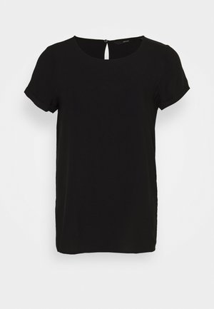 VMNADS FOLD UP BLOUSE  - Blouse - black