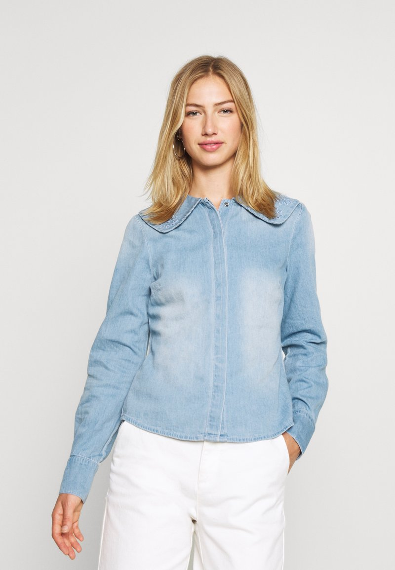 Vero Moda - VMDIANA - Chemisier - light blue denim
