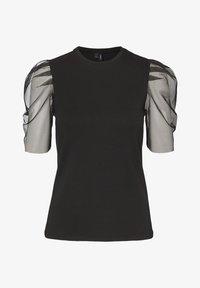 Vero Moda - T-shirt con stampa - black - 4