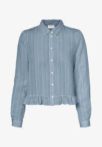 Vero Moda - HEMD GESTREIFTES - Overhemdblouse - ashley blue - 4