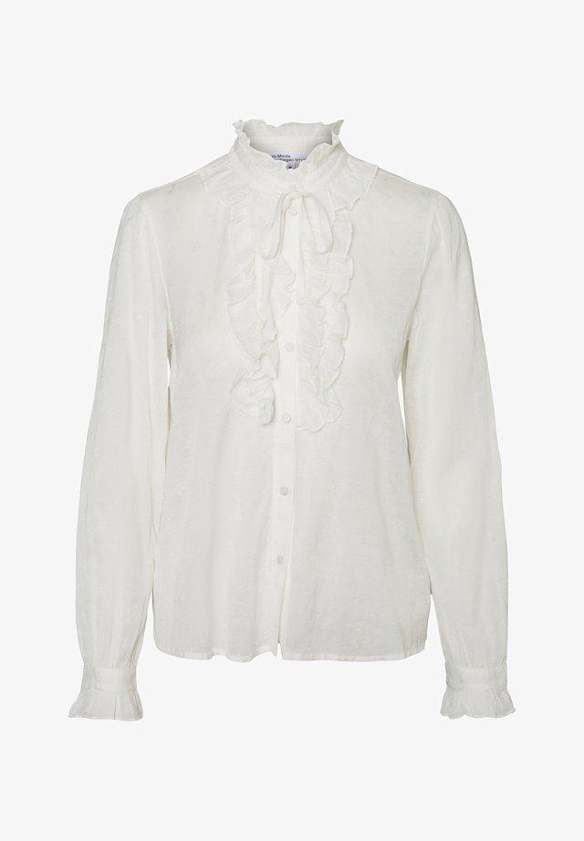LANGÄRMELIGE - Button-down blouse - snow white