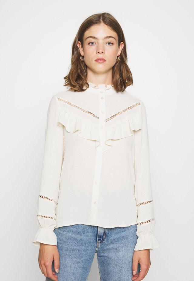 VMZIGGA DETAIL - Button-down blouse - birch