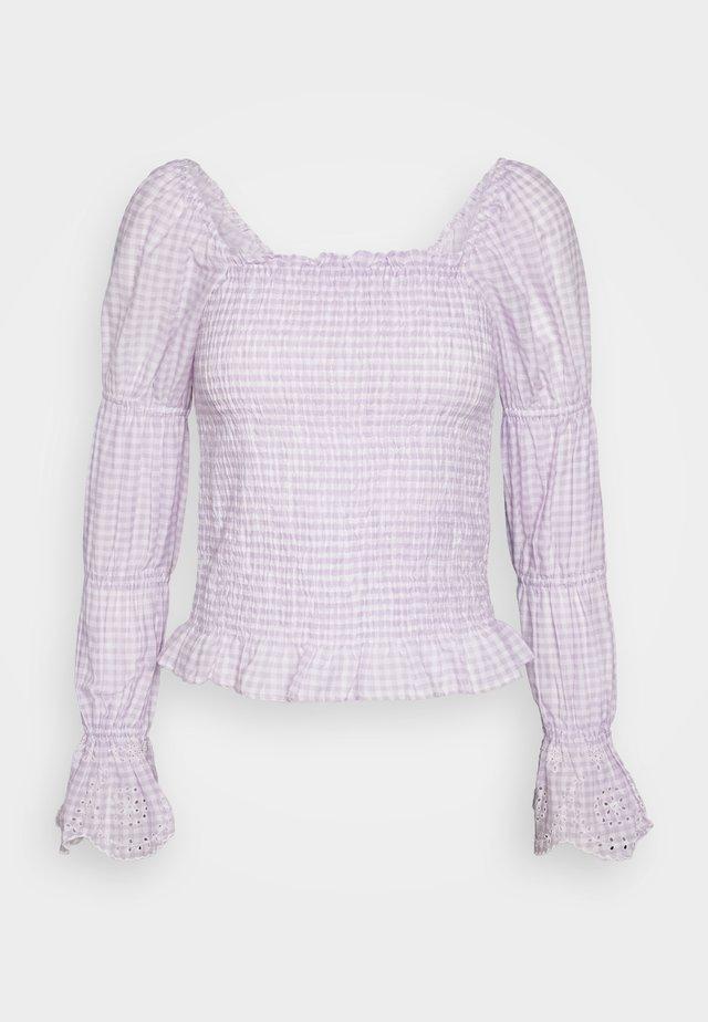 VMAMELIA SMOCK  - Bluser - pastel lilac