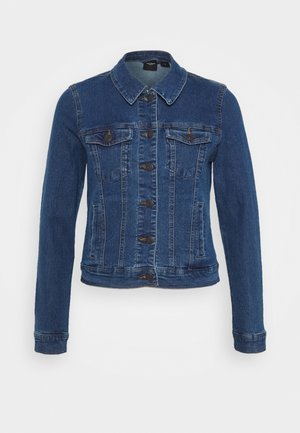 VMHOT SOYA JACKET MIX - Chaqueta vaquera - medium blue denim