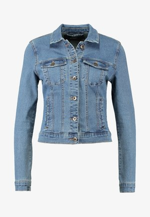 VMHOT SOYA JACKET MIX - Denim jacket - medium blue