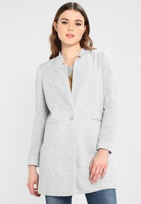 Vero Moda - VMJUNE LONG  - Krátký kabát - light grey melange - 0