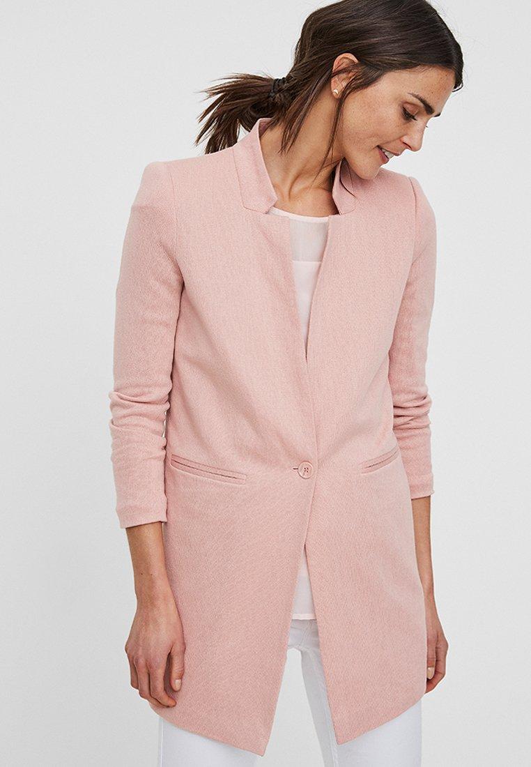 Vero Moda - VMJUNE LONG  - Krátký kabát - rose