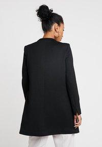 Vero Moda - VMJUNE LONG  - Short coat - black - 2
