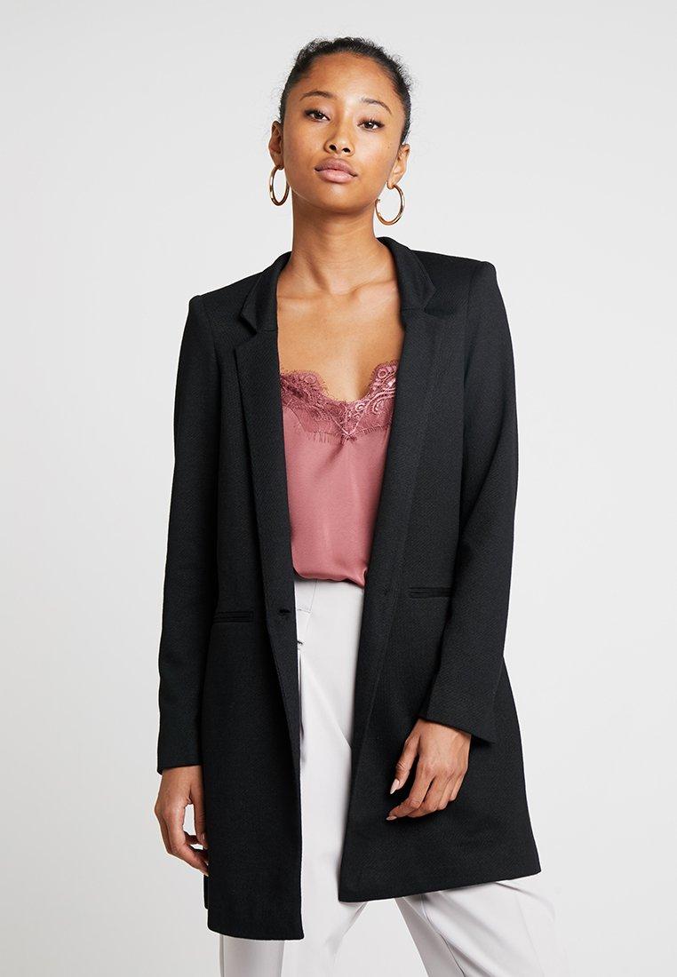 Vero Moda - VMJUNE LONG  - Short coat - black