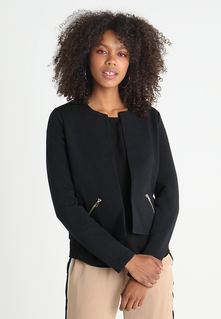 Vero Moda - VMHANNA SHORT - Blazer - black