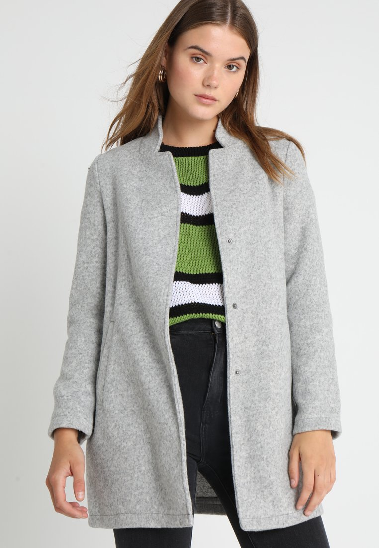 Vero Moda - VMKATRINE - Short coat - light grey melange
