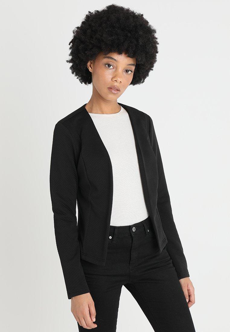 Vero Moda - VMVILDE SHORT - Blazere - black