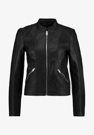 VMKHLOE JACKET - Faux leather jacket - black