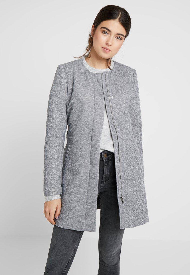 Vero Moda - VMJULIA JACKET - Pitkä takki - light grey melange