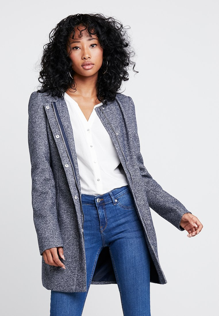 Vero Moda - VMJULIA JACKET - Manteau court - night sky/melange