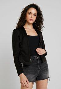 Vero Moda - VMJANEY SHORT  - Blazer - black - 0