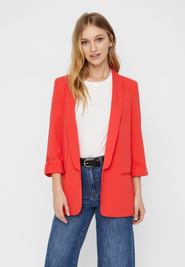 Vero Moda - Manteau court - poppy red