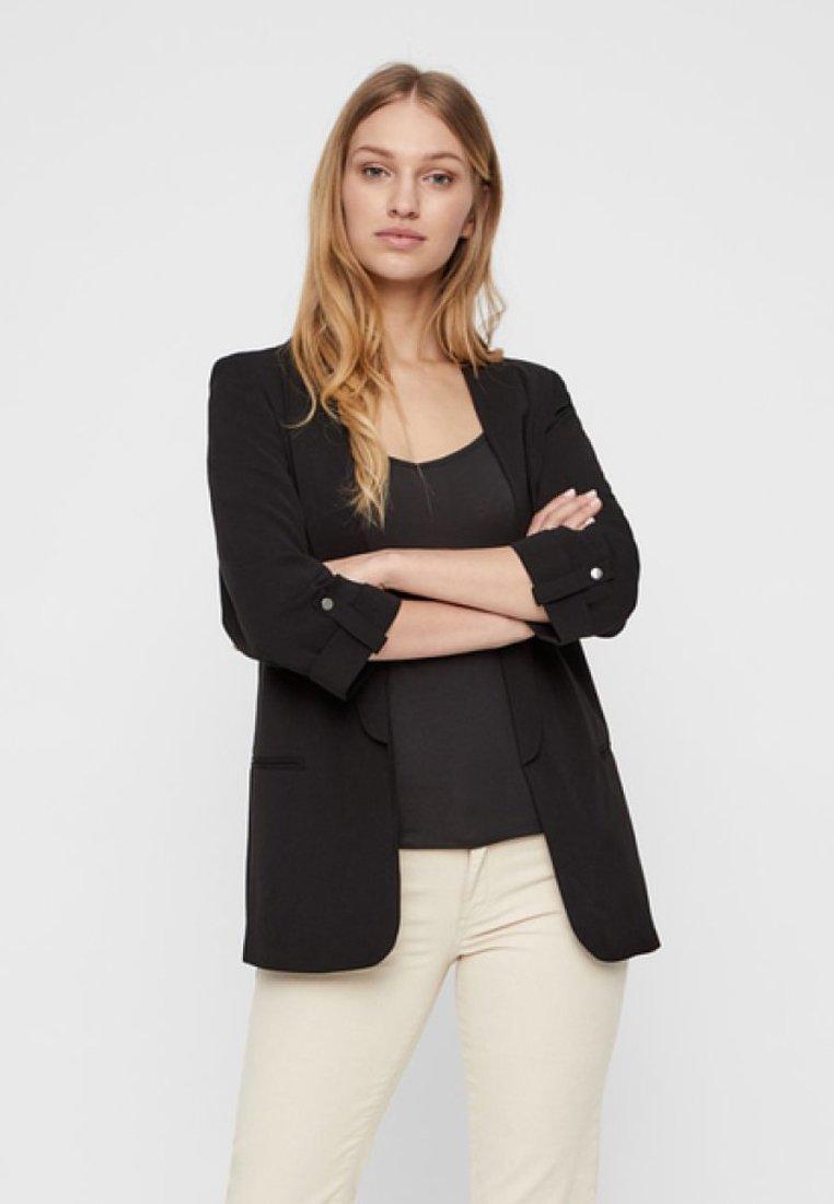 Vero Moda - Abrigo corto - black