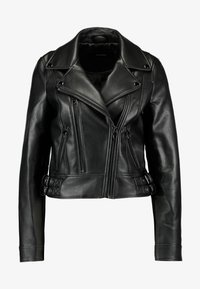 Vero Moda - VMCOOL SHORT COATED JACKET - Giacca in similpelle - black - 5