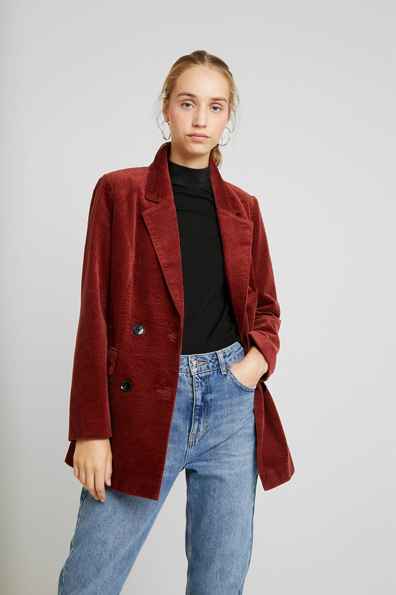 Vero Moda - VMLEVIRIE - Short coat - madder brown