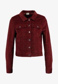 Vero Moda - VMSOYA SLIM JACKET - Summer jacket - madder brown - 3