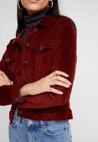 Vero Moda - VMSOYA SLIM JACKET - Summer jacket - madder brown - 4