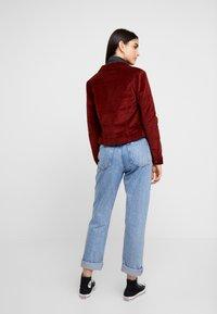 Vero Moda - VMSOYA SLIM JACKET - Summer jacket - madder brown - 2