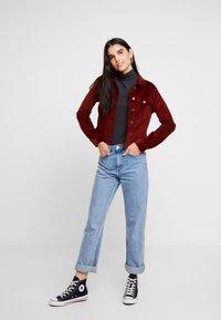 Vero Moda - VMSOYA SLIM JACKET - Summer jacket - madder brown - 1