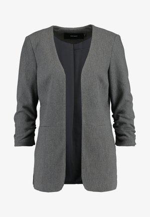 VMINEZ LONG - Blazer - dark grey melange