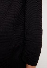 Vero Moda - VMINEZ LONG - Sportovní sako - black - 4